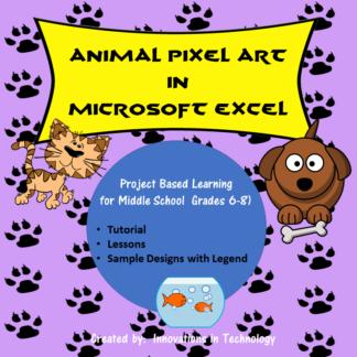 Animal Pixel Art cover square