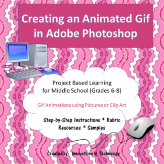 Animated Gif in Photoshop Cover square
