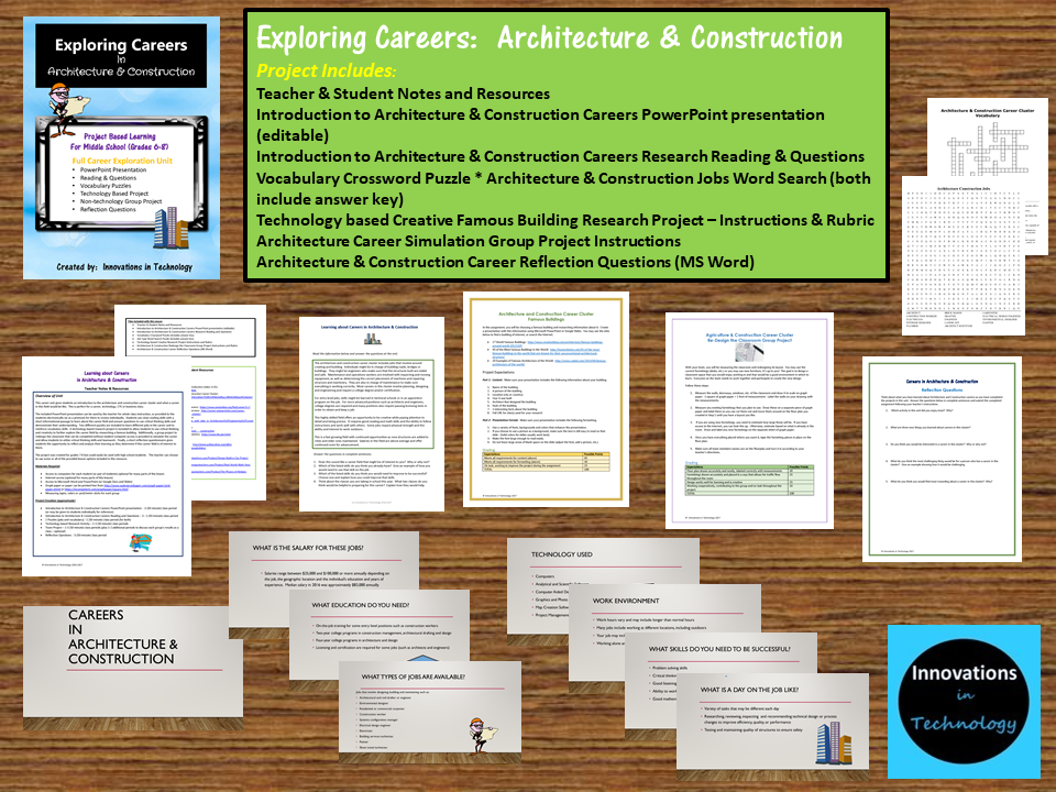 Exploring Careers: Architecture & Construction