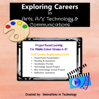 Arts AV Careers cover square