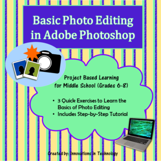 Basic Photoshop Cover square