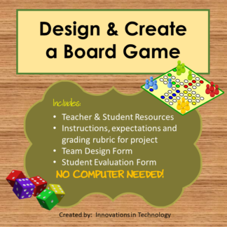 Board Game Cover square