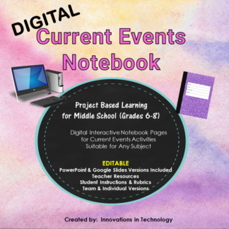 CE Digital Notebook COVER square