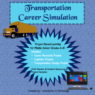 Career Sim Transportation Cover square