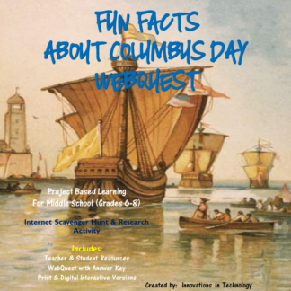 Columbus Day Cover square