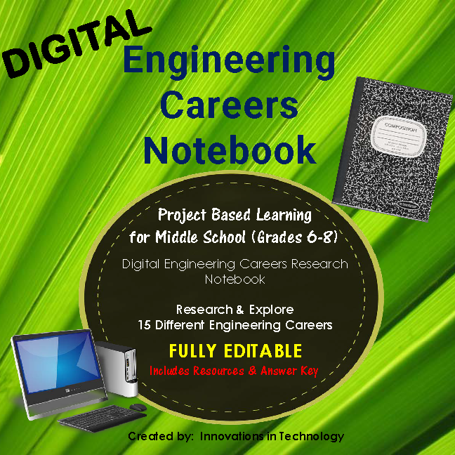 Engineering Careers Research – Digital Notebook