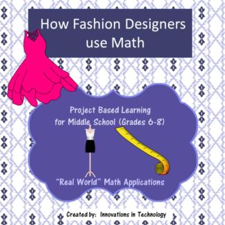 Fashion Design Math Cover square