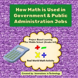 Government Math Cover square