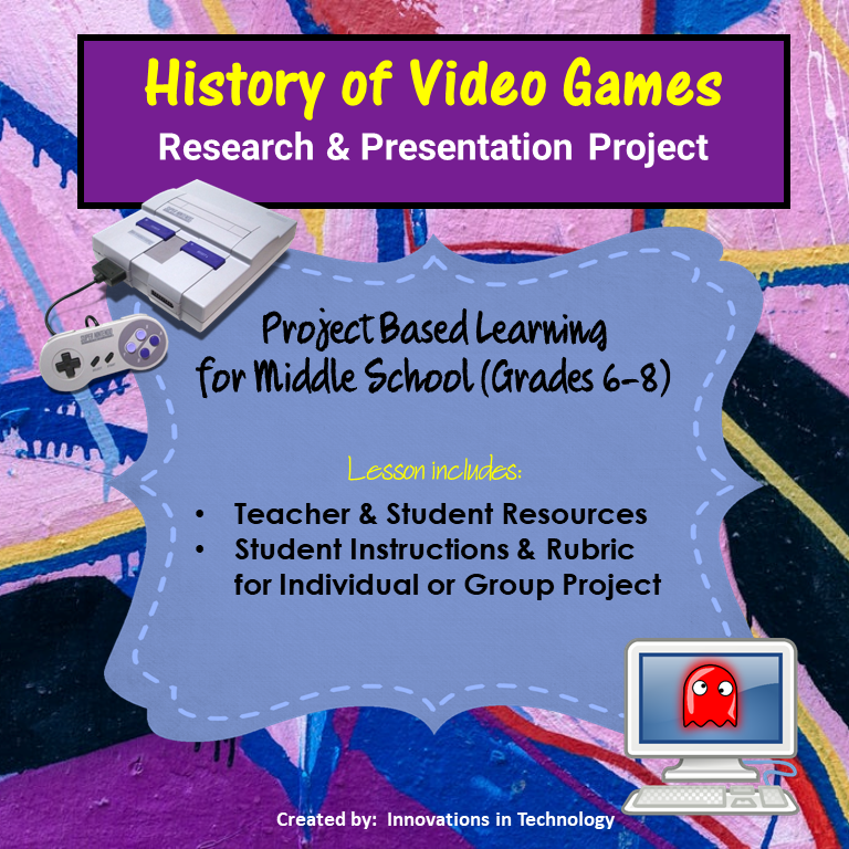 History of Video Games – Research & Presentation Project