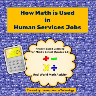 Human Services Math Cover square