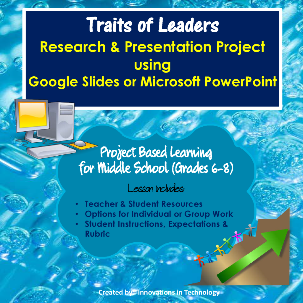 Character Traits of Leaders – Research & Presentation Project