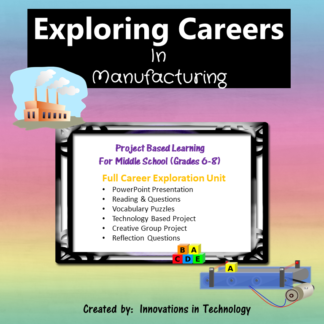 Manufacturing Careers cover square