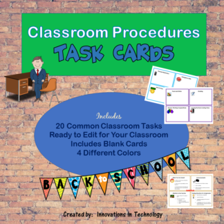 Procedure Cards COVER square