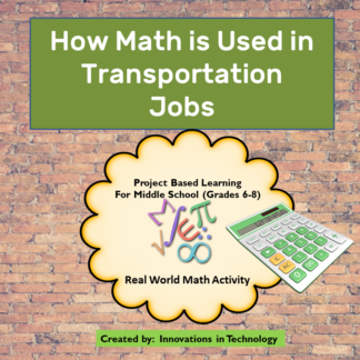 Transportation Math Cover square