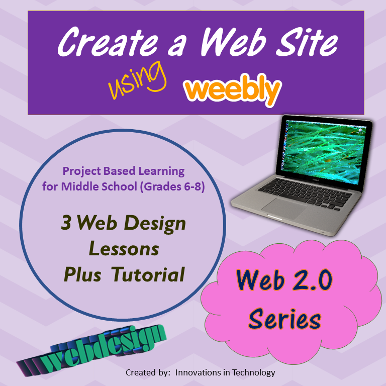Web Design using Weebly