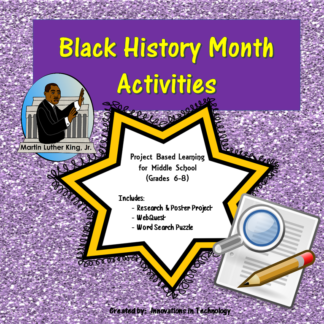 Black History Month Cover square