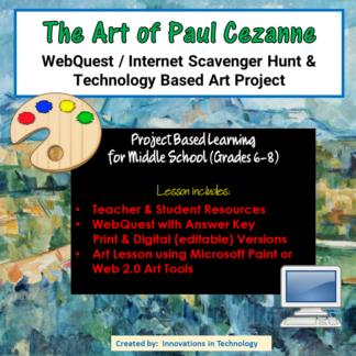 Cezanne Cover square