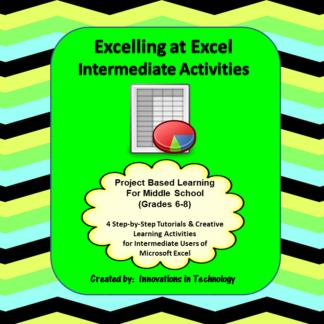 Excel Intermediate Cover square