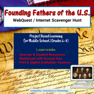Founding Fathers Cover square