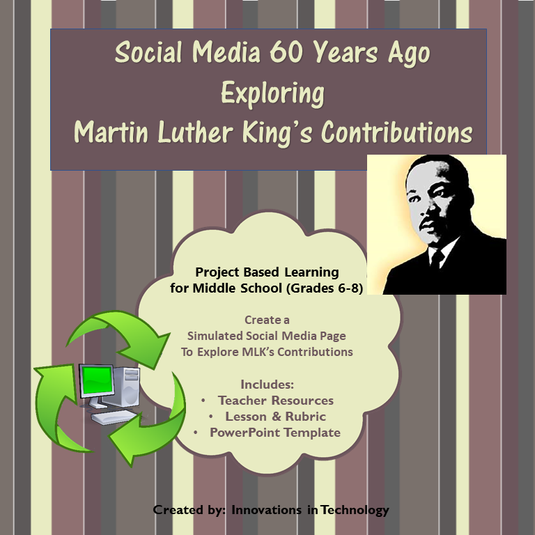 Martin Luther King Jr. Impact on Society – Social Media Simulation