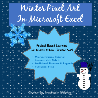 Winter Pixel Art cover square2
